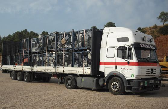 camion articulado