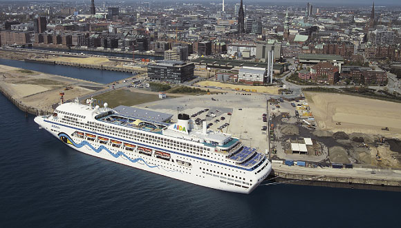 Hamburgo construye su tercera terminal de cruceros