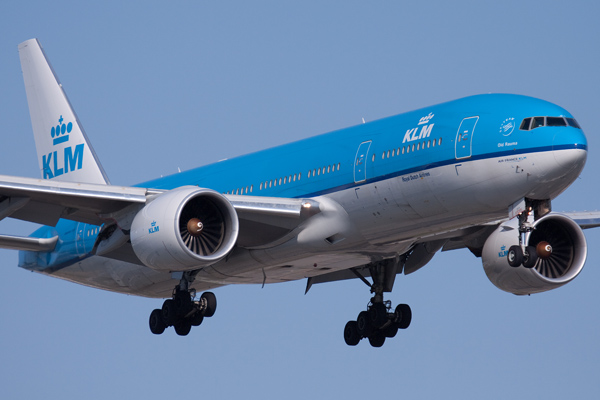 KLM-avion