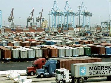 Los camioneros de Los Ángeles y Long Beach inician nueva huelga