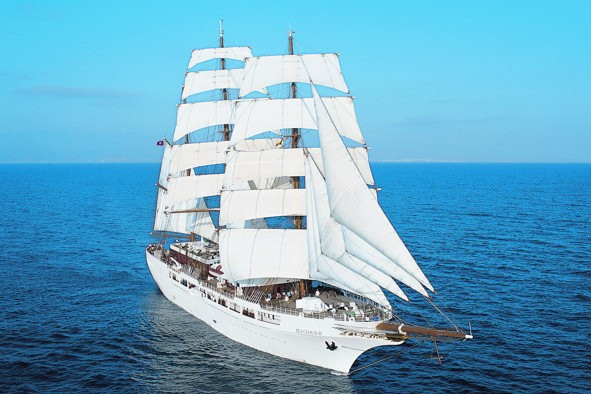 Sea Cloud navegará por el Caribe en 2015