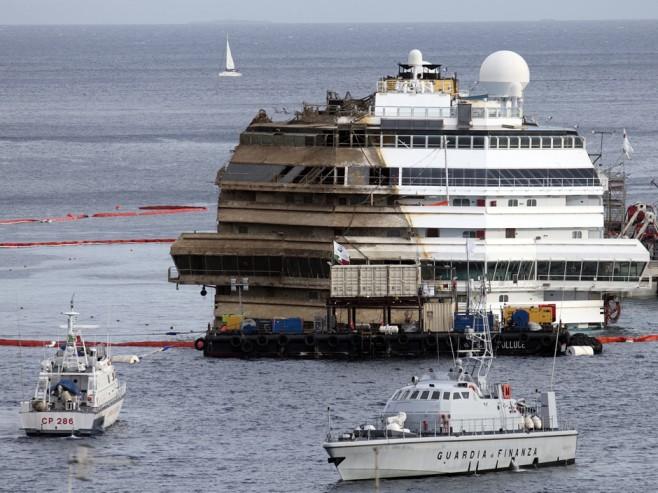 Ya está listo el itinerario de desmantelamiento del Costa Concordia