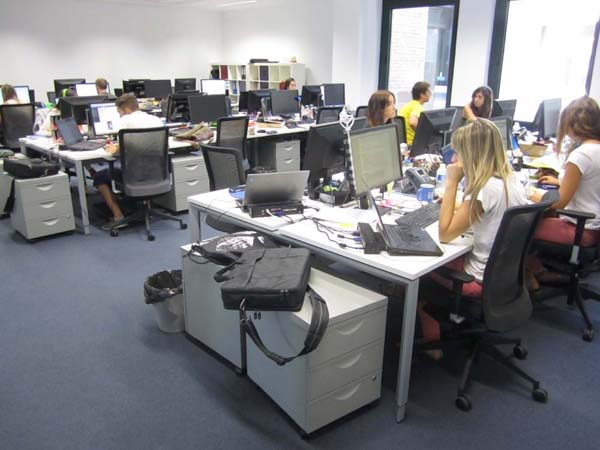 La ocupaci n de oficinas aumenta un 1 desde enero - Oficinas de adecco en madrid ...