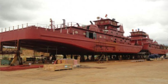 Bolivia reclama sus barcazas al Gobierno Chino