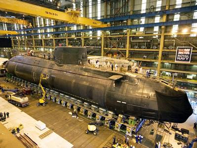 El astillero de Portsmouth se prepara para el cierre