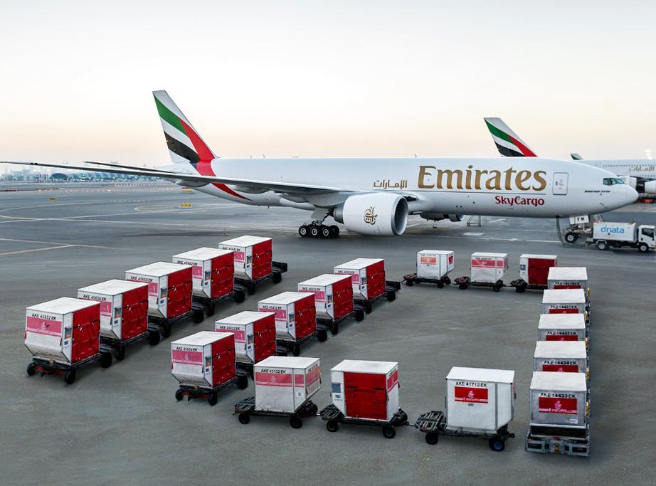 Emirates SkyCargo aumenta su capacidad en la ruta a Chicago