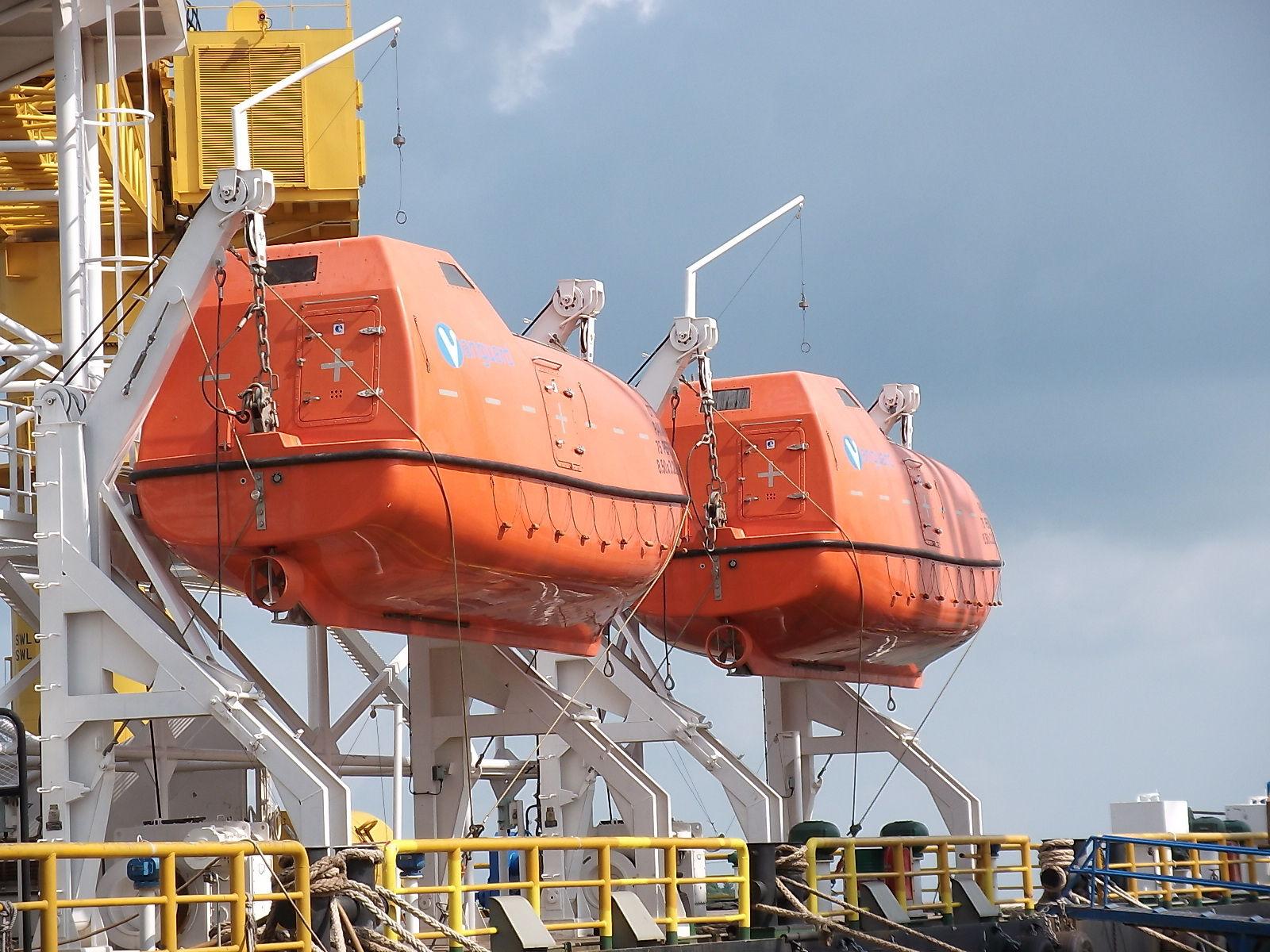 Rescue and Survival Group patenta nuevos botes salvavidas