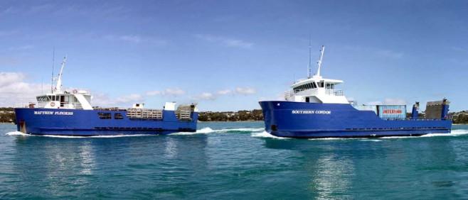Autoridades buscan nuevo servicio de carga marítima para Flinder