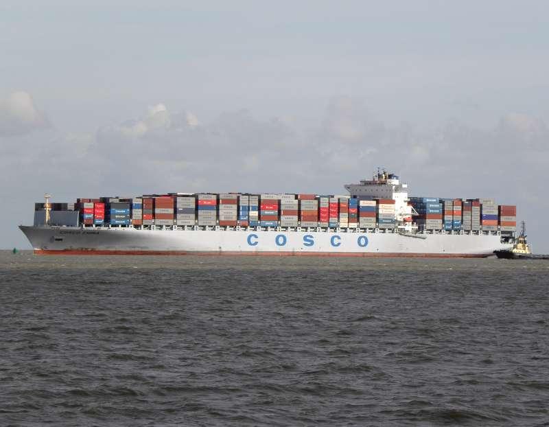 COSCO se encargará del transporte de hierro de Vale