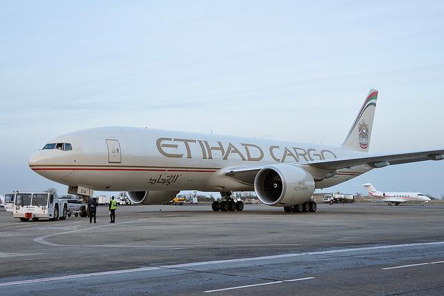 Etihad Cargo inicia operaciones en Moscú