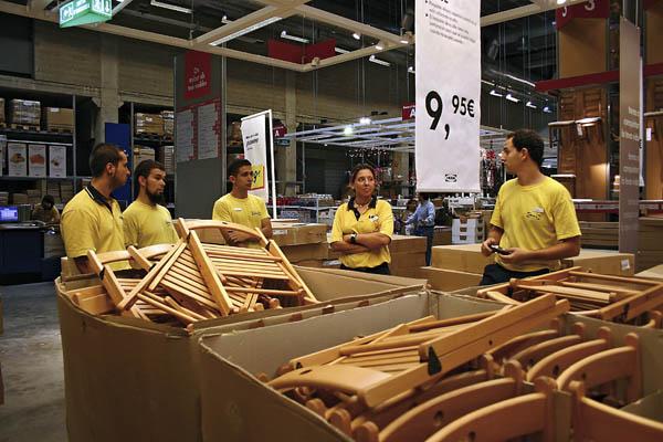 Ikea-trabajadores