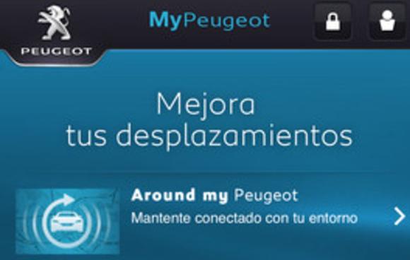 Link MyPeugeot aplicacion