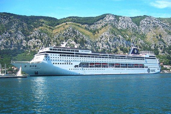 MSC está ampliando su buque Armonía