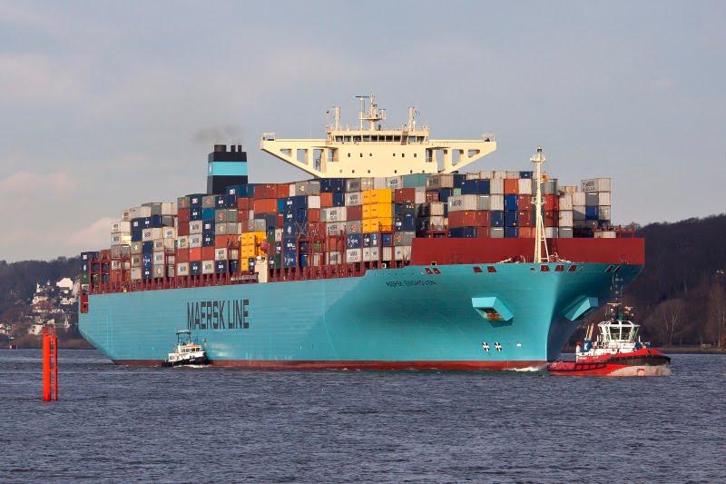 Maersk bate un récord en el transporte de contenedores