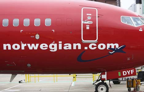 Norwegian-Airlines-avion