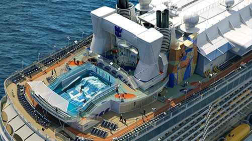 Royal Caribbean lleva el arte al mar