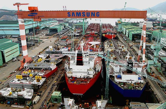 Samsung Heavy Industries busca localización para una nueva planta