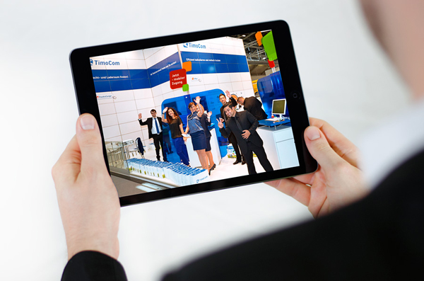 TimoCom-tablet