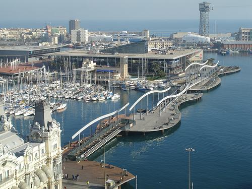 Resultado de imagen de puerto barcelona