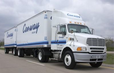 Con-way aumenta el salario de sus conductores