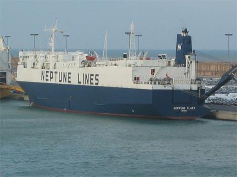 Neptune Orient podría ser vendida a APL Logistics