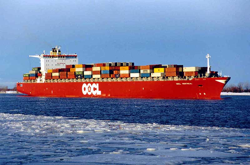 OOCL inicia la ruta China-Nueva Zelanda