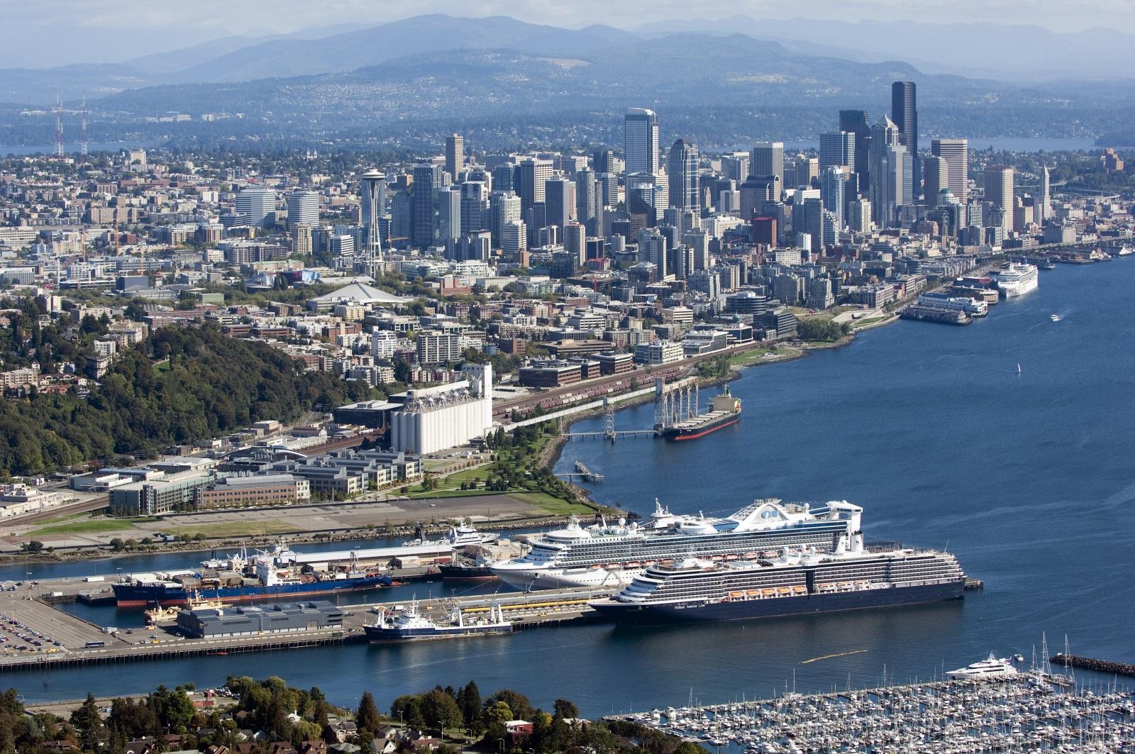 Puertos de Seattle y Tacoma unifican la gestión de carga