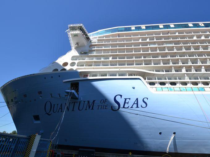 Quantum of the Seas comienza la cuenta atrás para su entrega