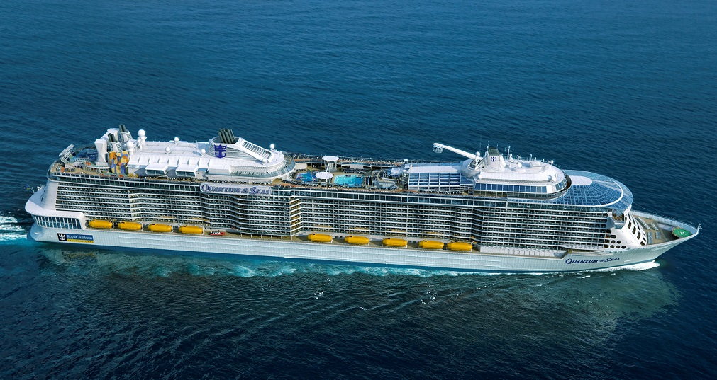 Royal Caribbean dedica una terminal al Quantum of the Seas