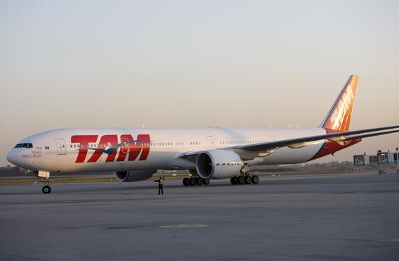Boeing 777 TAM Airlines