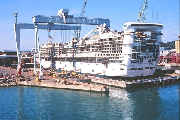 Fincantieri podría construir barcos en China