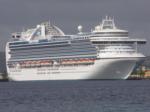 Pasajeros enferman en un crucero de Princess Cruisses