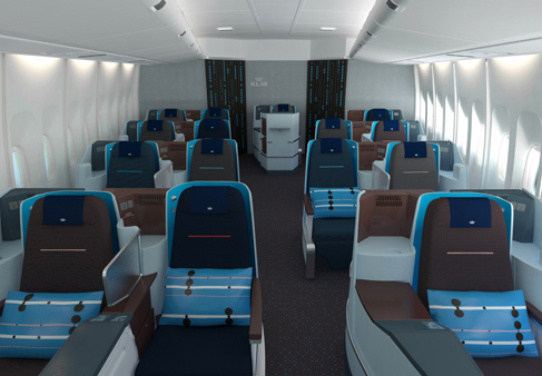 cabina-KLM-Word-Business-Class