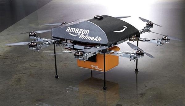 Amazon podría probar sus drones fuera de EEUU