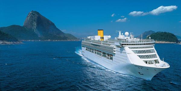 Brasil espera una mala temporada de cruceros