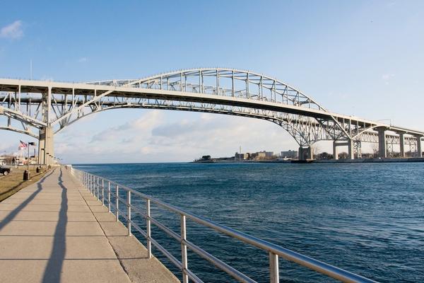 Blue Water Bridge será cerrado en abril por reforma