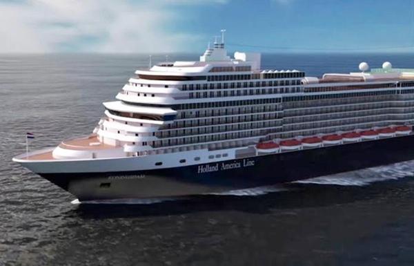 Buque Koningsdam realizará cruceros por Europa