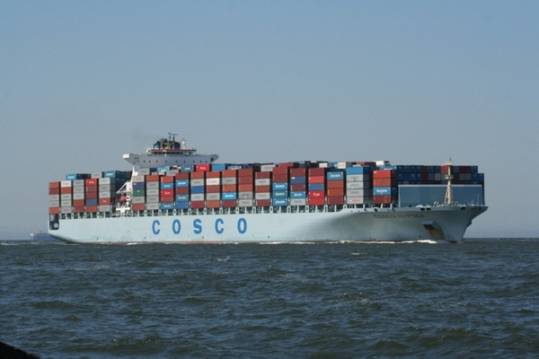 China COSCO obtiene beneficios en 2014