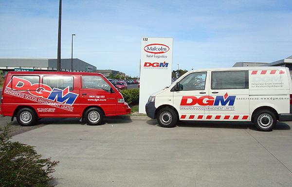 DGM-furgonetas