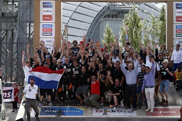 Dakar 2015-podio