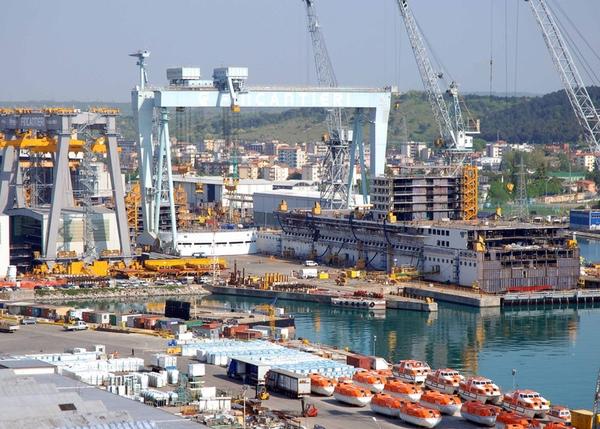 Fincantieri construye el buque más lujoso del mundo