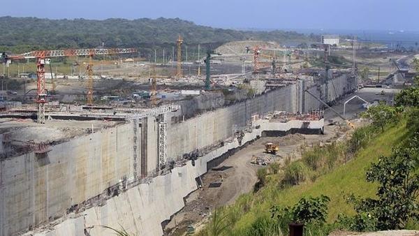 Obra del Canal de Panamá está completa al 85 por ciento