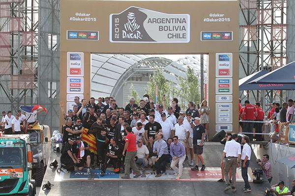 Pep Vila Dakar 2015 Iveco
