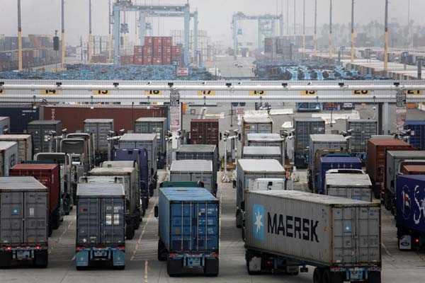 Puerto de Los Ángeles registra volúmenes más altos desde 2007