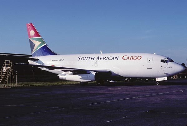 South African Airways carga aerea