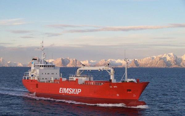Eimskip combina sus servicios en Europa del Norte y América del Norte