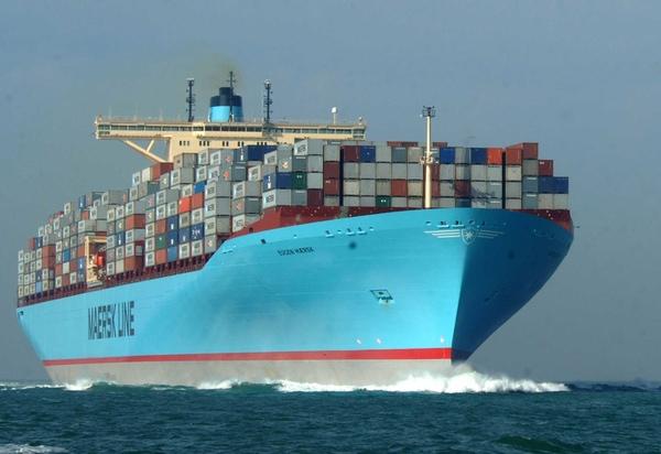 Maersk Line aumentó beneficios en 2014