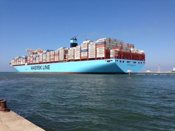 Maersk Mckinney Moller establece un récord mundial