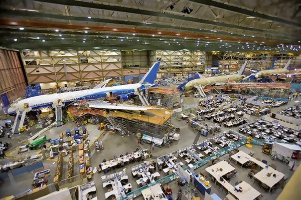 Manufactura aeroespacial aumenta en Estados Unidos