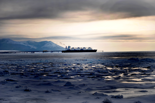 Tráfico se reduce en la ruta del Ártico
